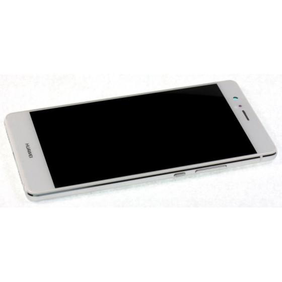 LCD + Touch ORIGINALE con Frame per Huawei P9 Lite Bianco