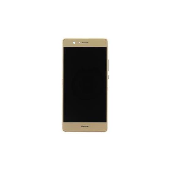 LCD + Touch ORIGINALE con Frame per Huawei P9 Lite Gold