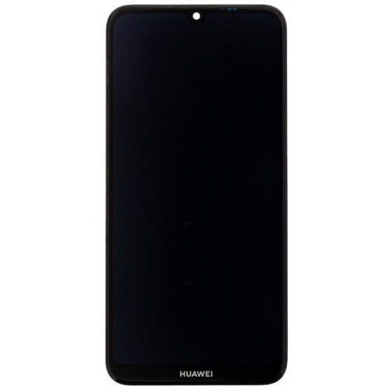 LCD Display + Touch con Frame per Huawei Y7 2019 3+32gb Nero