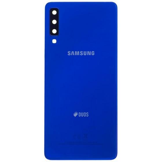 Cover Posteriore Samsung Galaxy A7 2018 SM-A750F Duos Blu