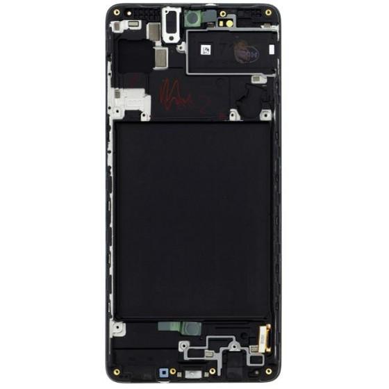 LCD display Samsung A715 Galaxy A71 Nero S.Pack GH82-22152A