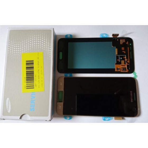 LCD ORIGINALE SAMSUNG J3 2016 DS GOLD SMJ320F GH97-18414B