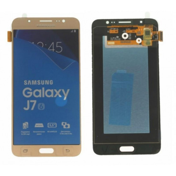 Lcd Samsung Originale J7 2016 SM-J710F Gold GH97-18855A