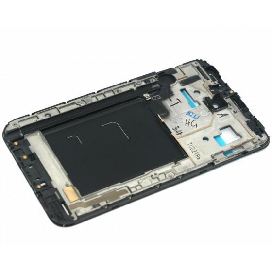 Frame Anteriore per Samsung Note N7000 Nero