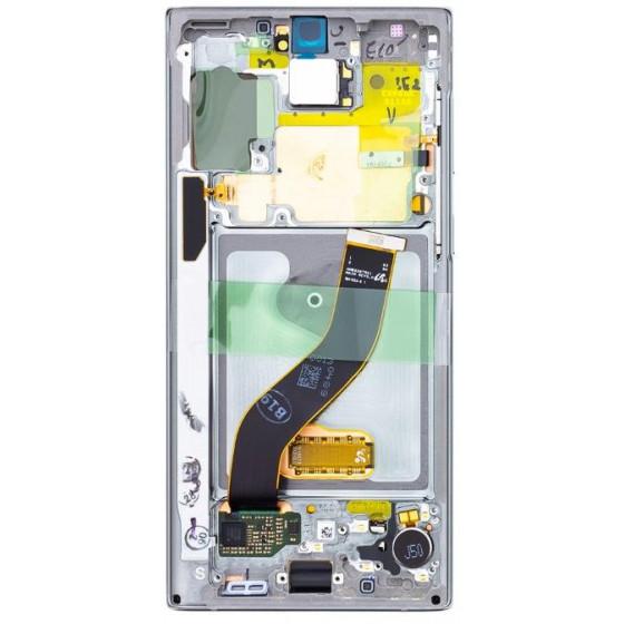 Lcd Originale Samsung Note 10 SM-N970F GH82-20818C Silver