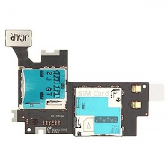 SD Card + Conn. SimCard per Samsung Galaxy Note II / N7100