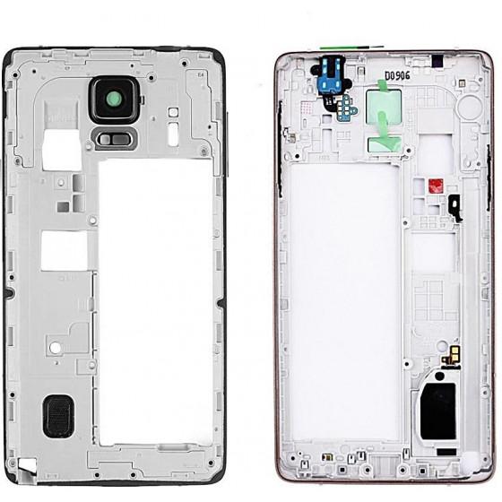 Frame Medio per Samsung Note 4 N910F Nero