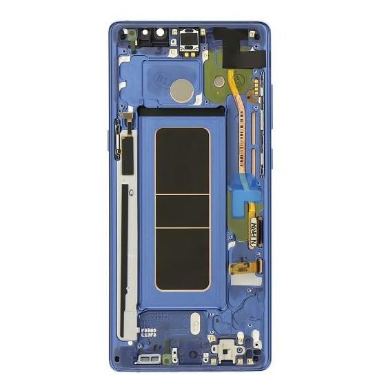 Lcd Samsung Originale Service Pack Note 8 Blu GH97-21065B