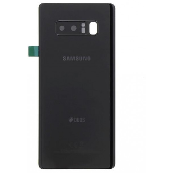 Samsung N950 Galaxy Note 8 Cover Posteriore Nera GH82-14985A