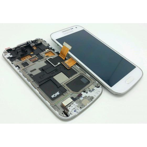 Lcd Completo ORIGINALE Samsung Galaxy S4 Mini Bianco 14766B
