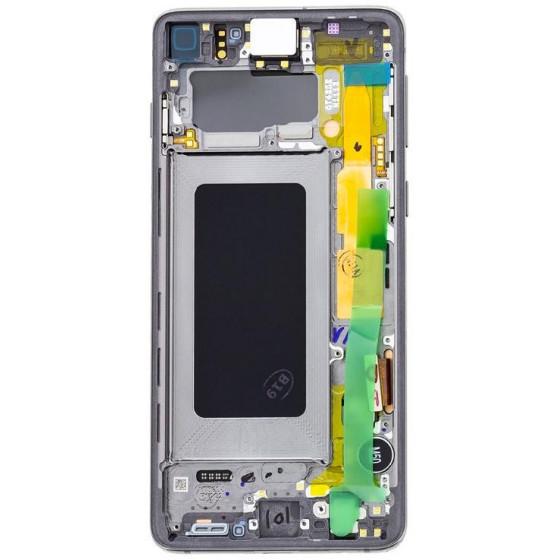 LCD display Touch Samsung G973 Galaxy S10 GH82-18850E Verde