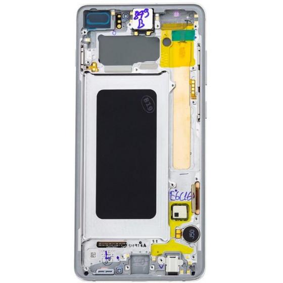LCD Samsung G975 Galaxy S10 Plus C. White S.Pack GH82-18849J