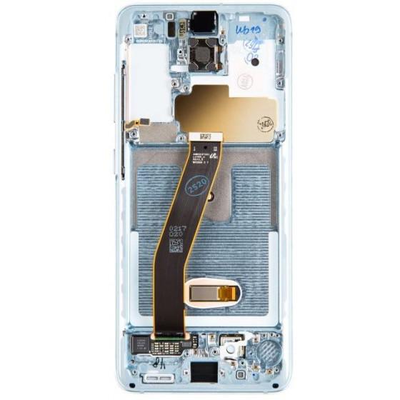 LCD Samsung G980 Galaxy S20 Service P. GH82-22131D Blu