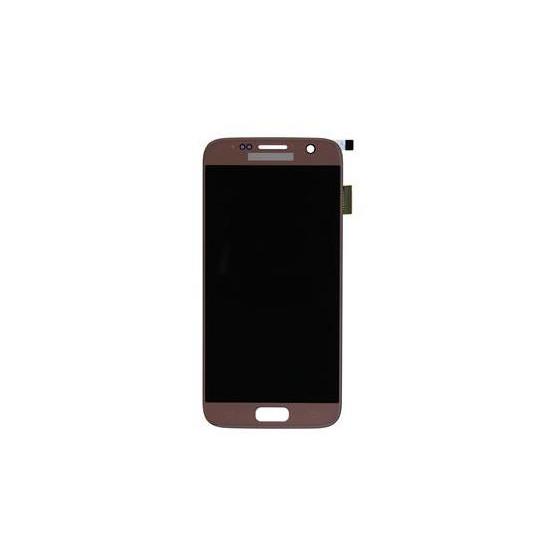 LCD + TOUCH PER GALAXY S7 ORIGINALE ROSE GOLD GH97-18523E