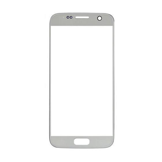 Vetro Touch per Samsung S7 Senza Logo Silver