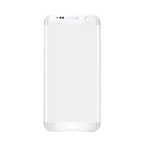 Vetro Touch per Samsung S7 Edge Senza Logo Bianco
