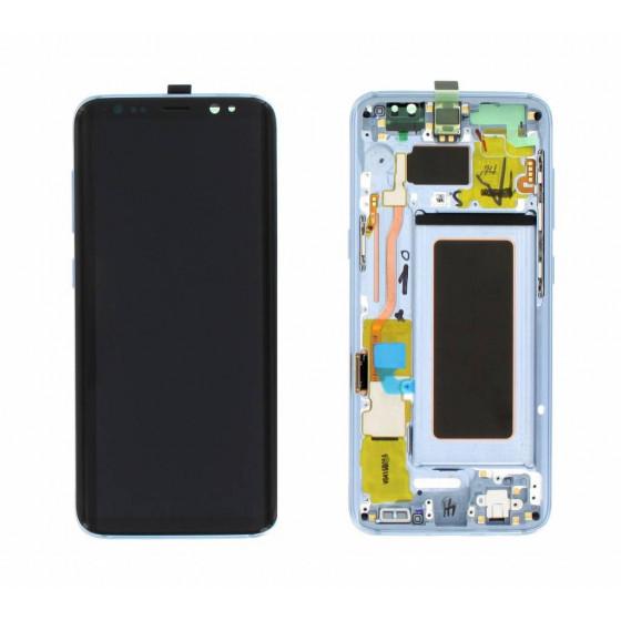 LCD Originale Samsung SM-G950 Galaxy S8 GH97-20457D Blu