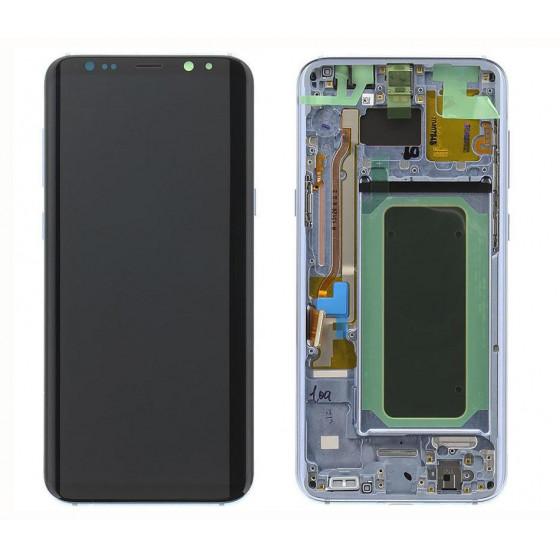 LCD Originale Samsung SM-G955 Galaxy S8 PLUS Blu GH97-20470D