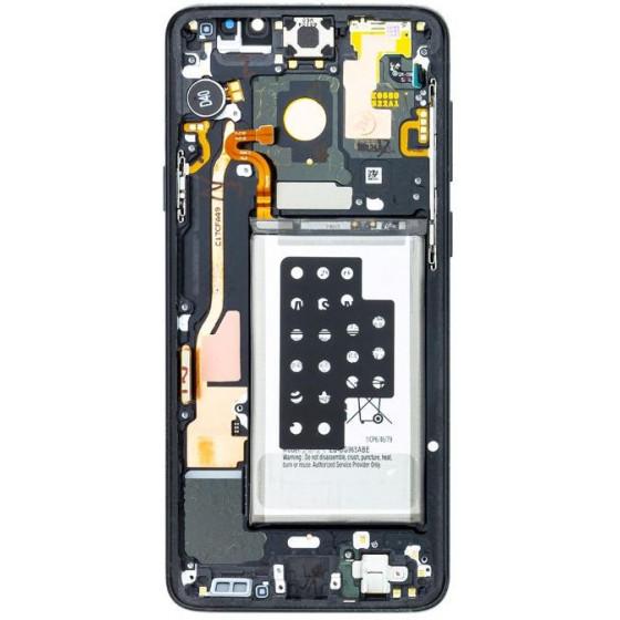 Lcd Samsung S9 Plus Versione con Batteria sensori e acc Nero