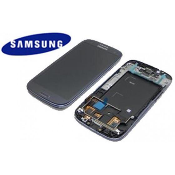 LCD + TOUCH SCREEN ORIGINALE (SVC) GT-I9300 BLU SCURO 13630A