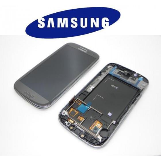 LCD + TOUCH SCREEN ORIGINALE SVC/RW PER I9300 GRIGIO 13630F