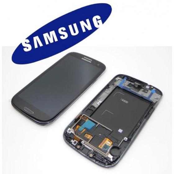 LCD + TOUCH SCREEN ORIGINALE SVC GT-I9300 NERO GH9713630E