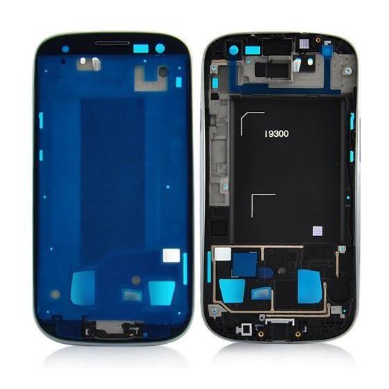 Frame Anteriore per Samsung Galaxy S3 i9300 Nero