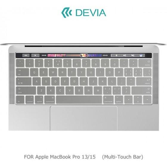 Protezione Tastiera Macbook Pro 13 & 15 con Multi-Touch Bar