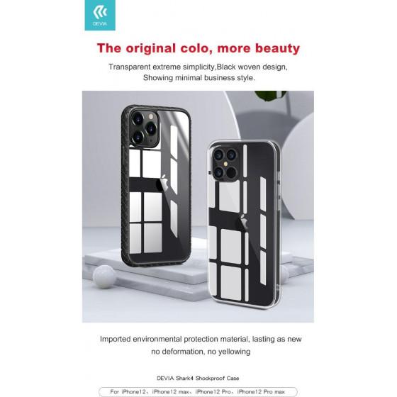 Cover Shark4 Protezione Trasparente per iPhone 12 Pro Max