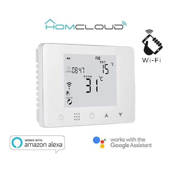 Cronotermostato digitale Homcloud wi-fi