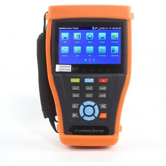 CCTV Tester IP Onvif, 4,3'' Touchscreen, Wifi, Tester Lan
