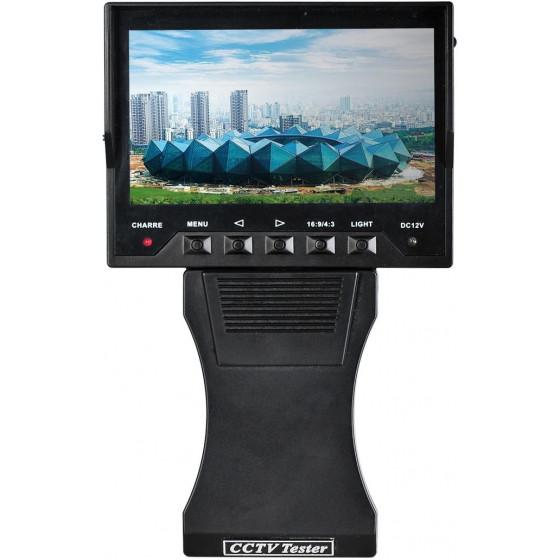 CCTV Tester AHD 1080p + Analogic, schermo 4,3 pollici