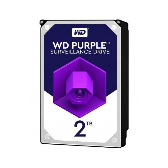 Western Digital HDD int.2TB WD20PURZ, PURPLE