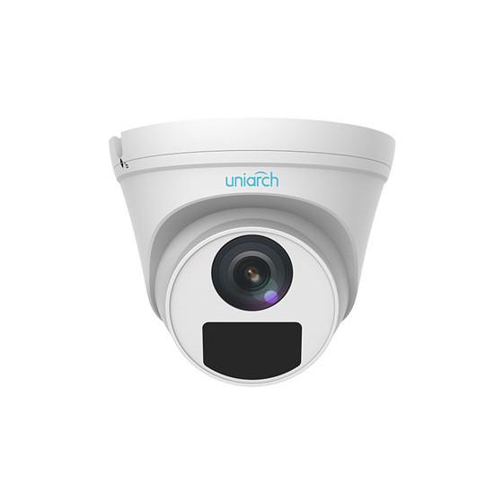 3MP Uniarch Turret IPCamera, Ottica 4.0mm Ultra265, 3-Axis