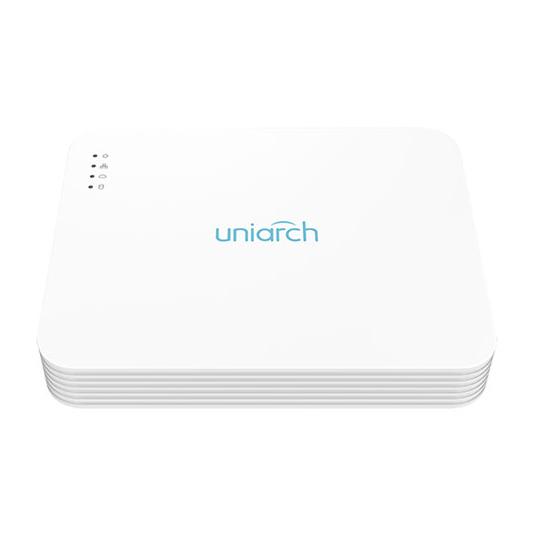 NVR Uniarch 16 Canali 8 Megapixel, Ultra265, 8 Uscite PoE