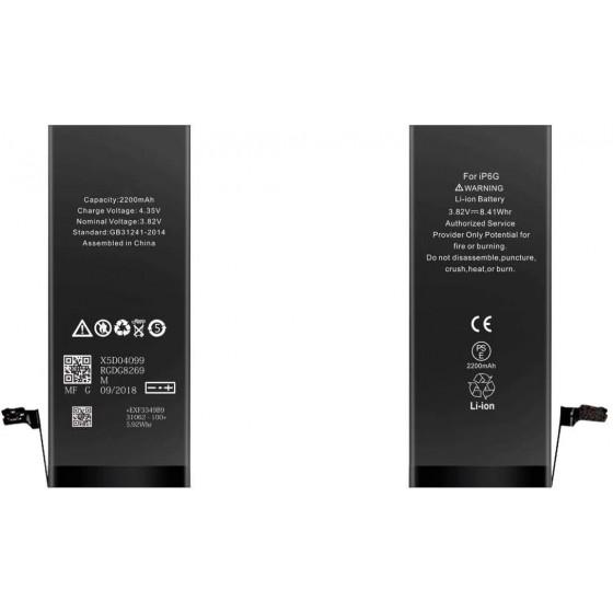 Batteria per iPhone 6, 2200mAh, High Capacity