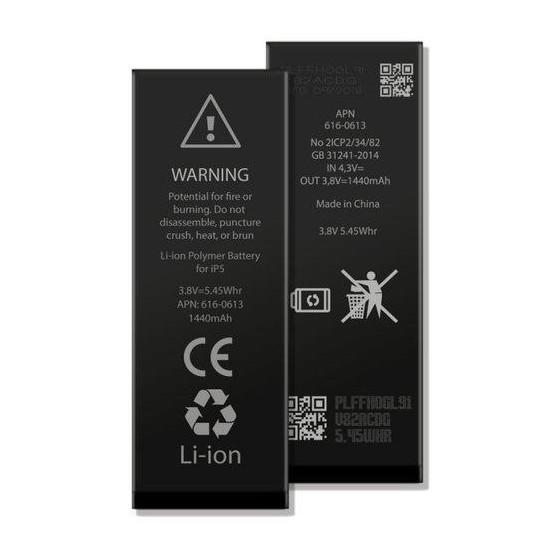 Batteria per iPhone 5, 1440mAh