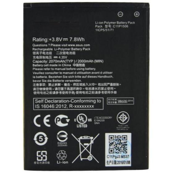 Batteria Originale C11P1506 Asus Zenfone GO ZC500TG