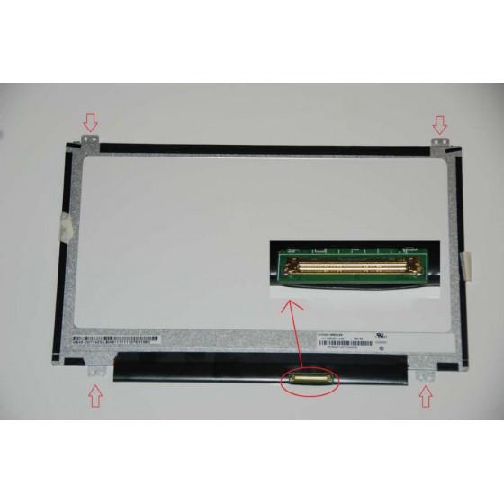Display B116XTN04.0 Top/Bottom led 11.6 - 40 pin
